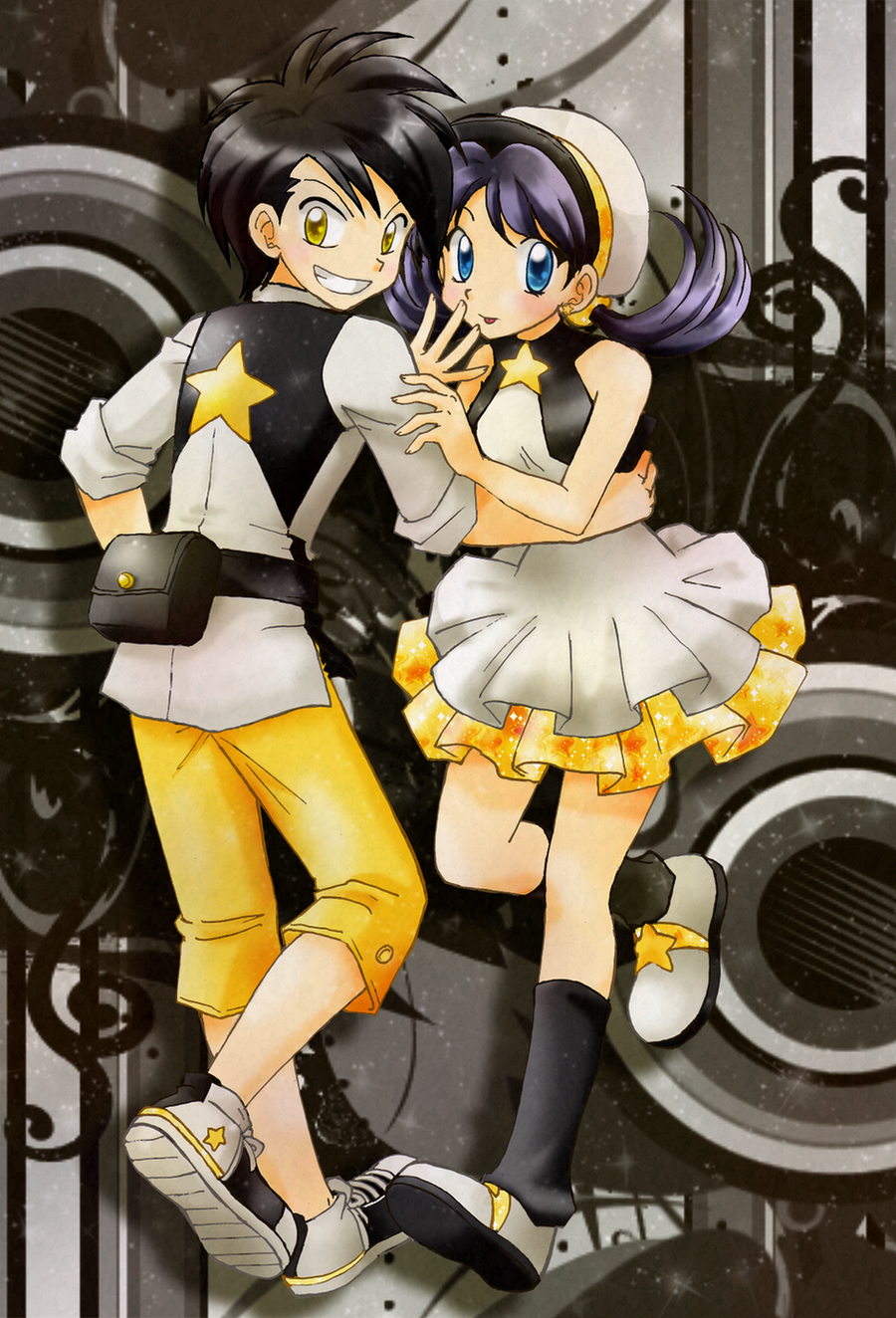 Gold And Crystal By Chikorita85 On Deviantart