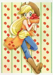Apple Jack by chikorita85