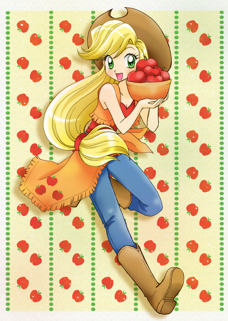 Apple Jack by chikorita85