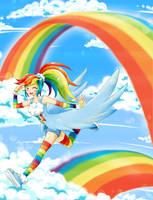 Rainbow Dash by chikorita85