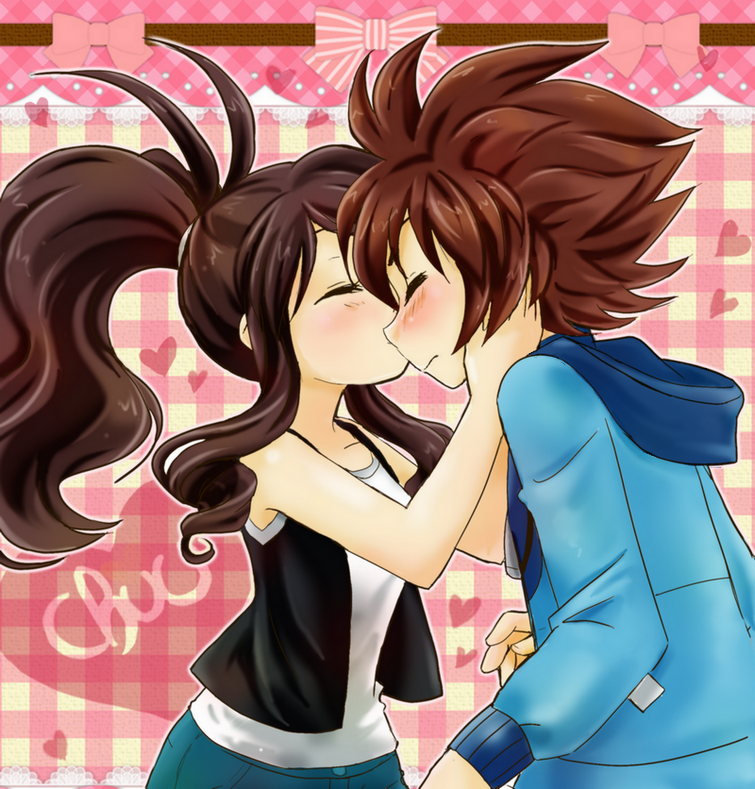 Agencyshipping -  kiss on the cheek by chikorita85