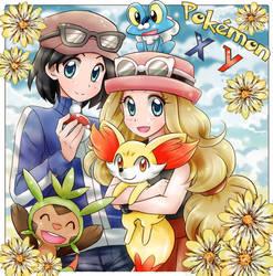 Pokemon XY by TSaianda