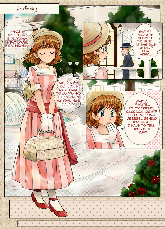 Colorful Maange 10 Pcs Ombre Rainbow Mermaid Makeup: Colorful Manga Page-1 By Chikorita85 On DeviantArt