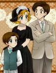 Ana, Danilo and Tonito by TSaianda