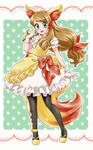 Serena cosplay fennekin - Commission