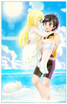 Sun and Lillie - Commission