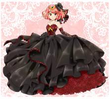 Pyra puffy dress - Commission by chikorita85