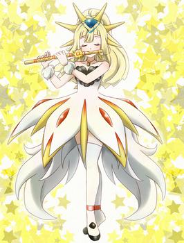 Lillie princess solgaleo- Commission