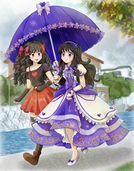 it's raining- Commission