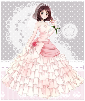 Erin wedding dress - Commission