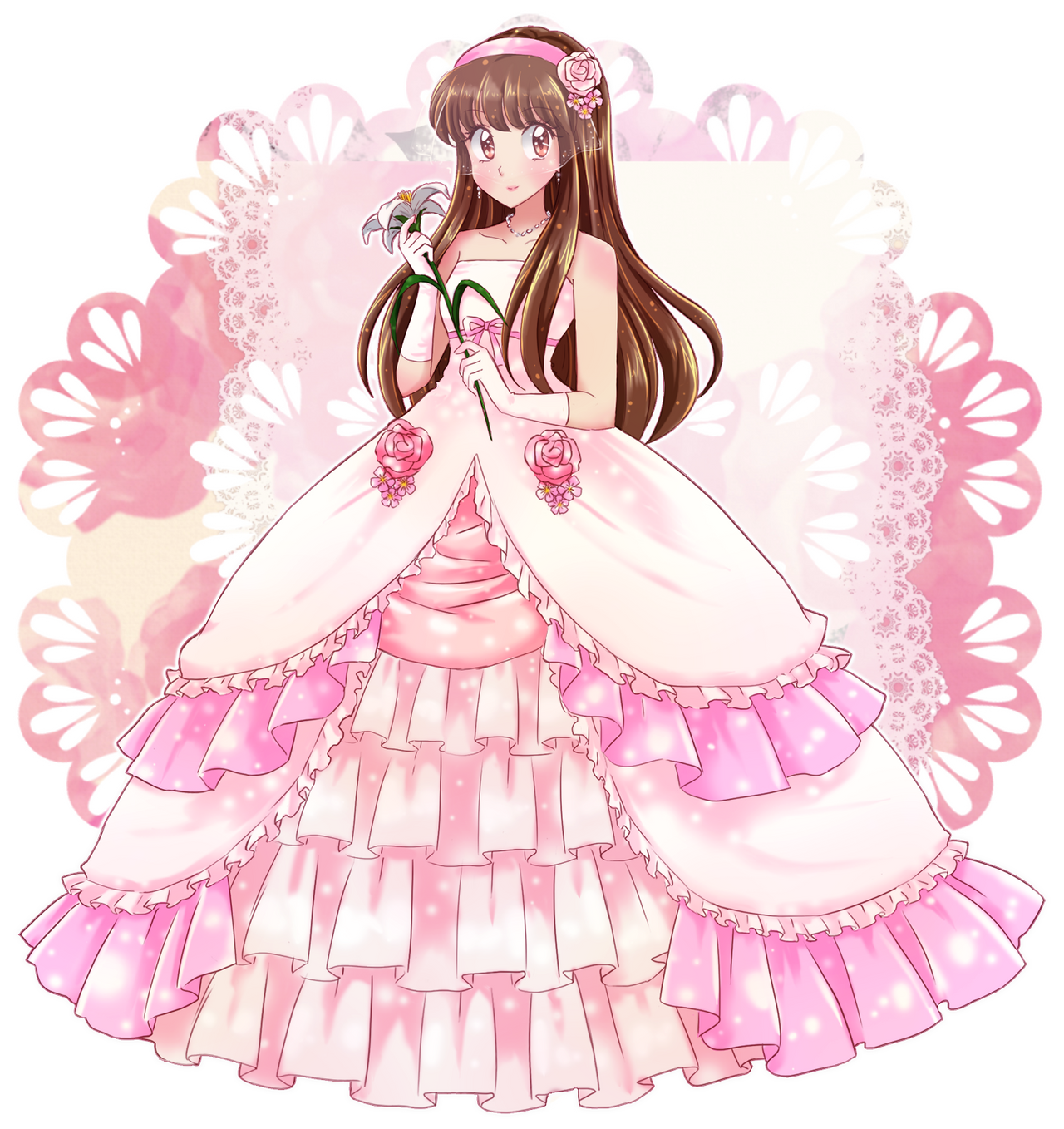 Marie Weding Dress- commission