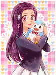 Nozomi and Penguin- Commission
