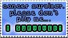 Cancer Survivor Stamp by querulousArtisan