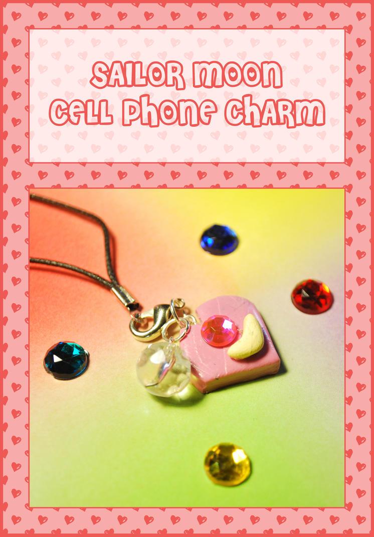 Sailor Moon Cell Phone Charm By Querulousartisan On Deviantart