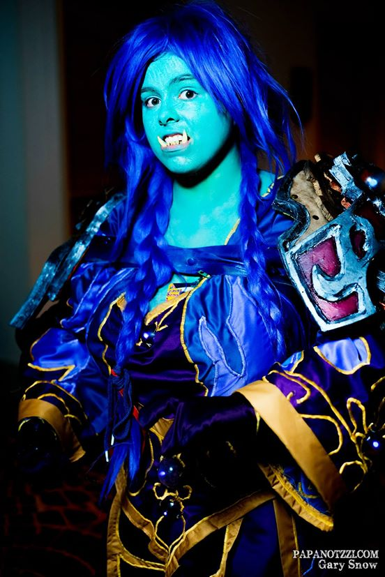 Troll Mage Cosplay by querulousArtisan