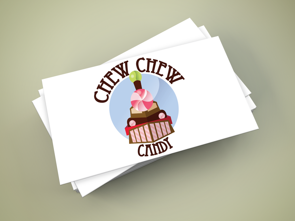 Chew Chew Candy Logo by querulousArtisan