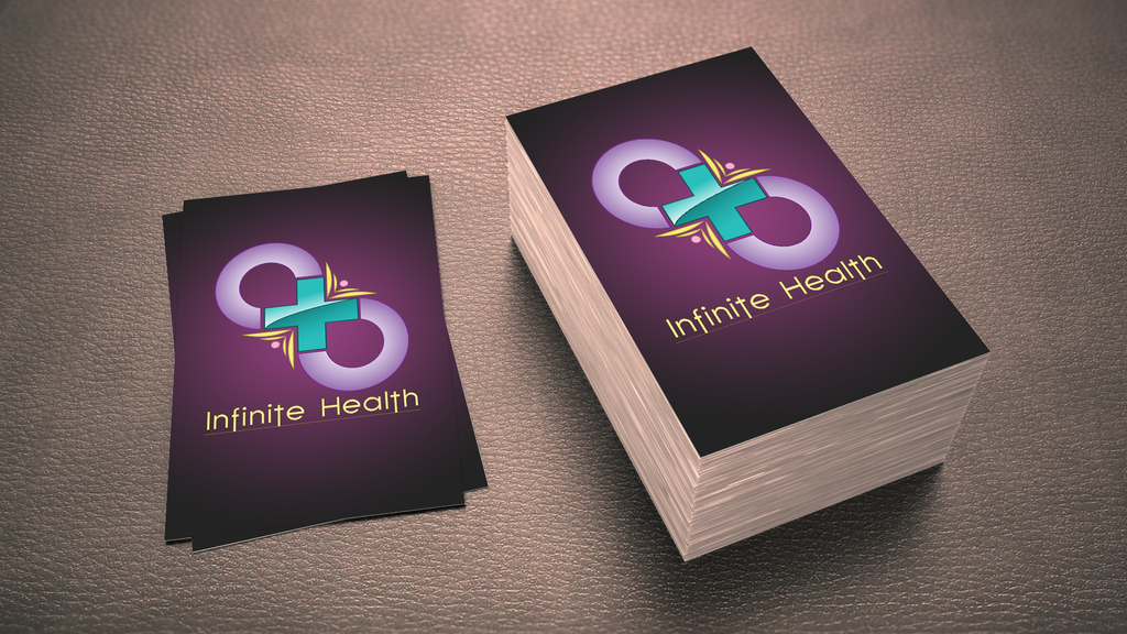 Infinite Health Logo Design by querulousArtisan