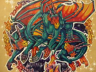 DragonsMarch : Magic by querulousArtisan