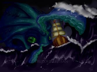 Kraken by querulousArtisan