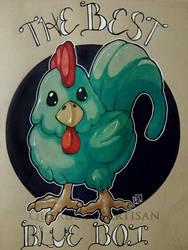 Inktober 2018 Day 5: Chicken by querulousArtisan