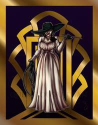 Art Deco Lady Dimitrescu