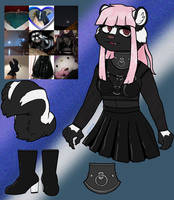 Goth Skunk CLOSED by stabby607