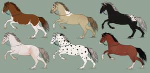 Natural Mystery Horse Adopts