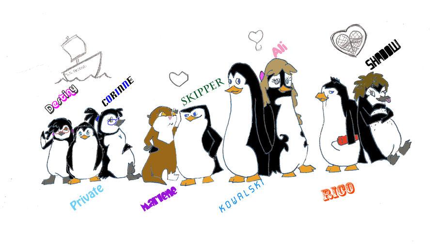 Секс пингвины из магаскара с марлин