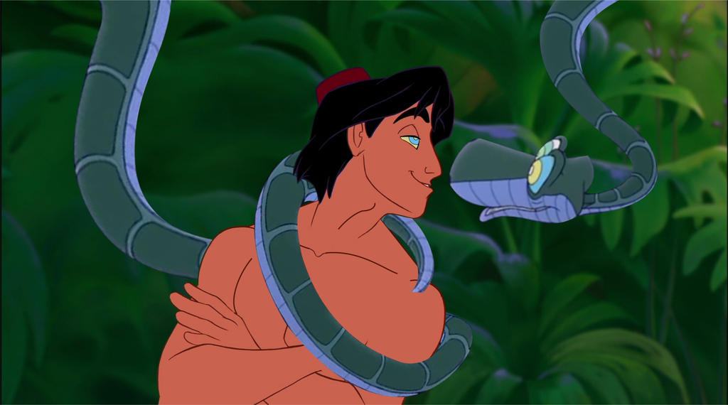 Aladdin and kaa 6 by tatta880 on deviantart - Serpent aladin ...