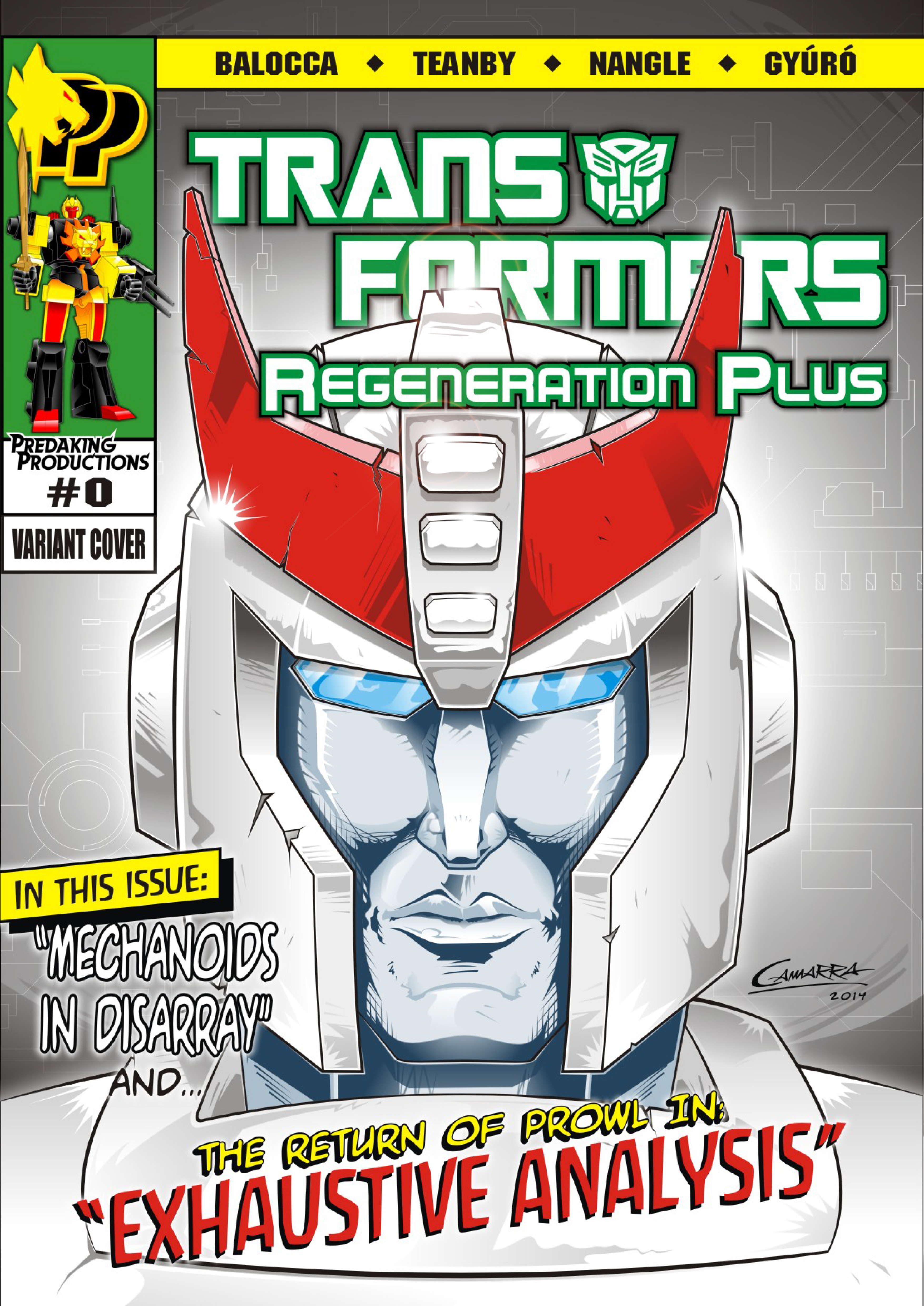 Variant Cover  0 Color+effects by RegenerationPlus