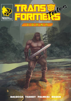 Transformers Tales Conan cover regular