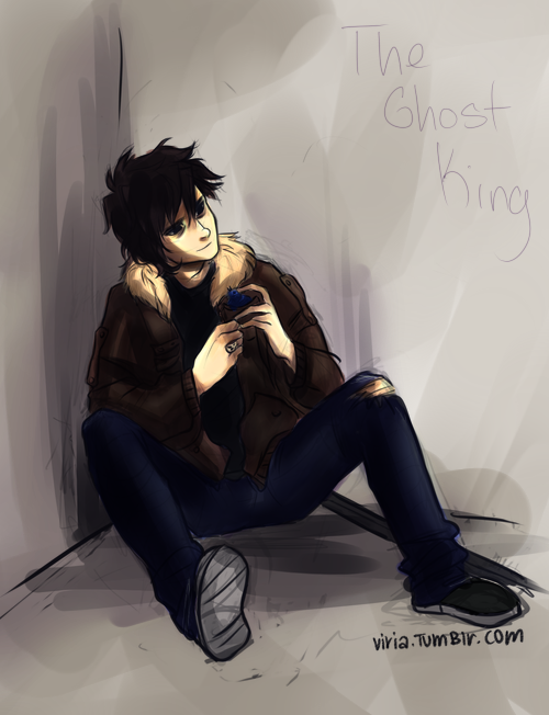 Nico Di Angelo (Colouring) by NicoValdez