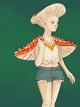 Mayshroom: Amanita muscaria