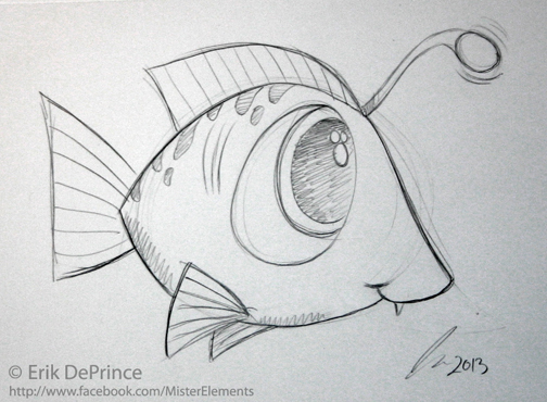 Cute Fish Sketch By ErikDePrince On DeviantArt