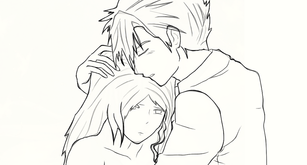 Anime Girl And Boy Holding Hands Drawing | www.imgkid.com ...
