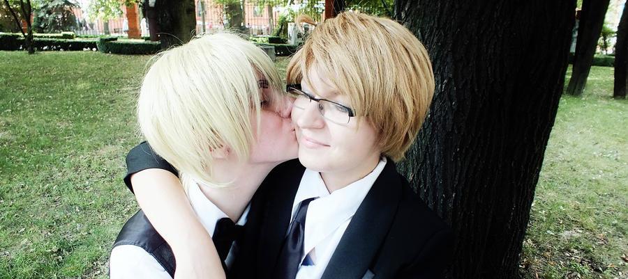 Can I kiss u? by 1Deidi