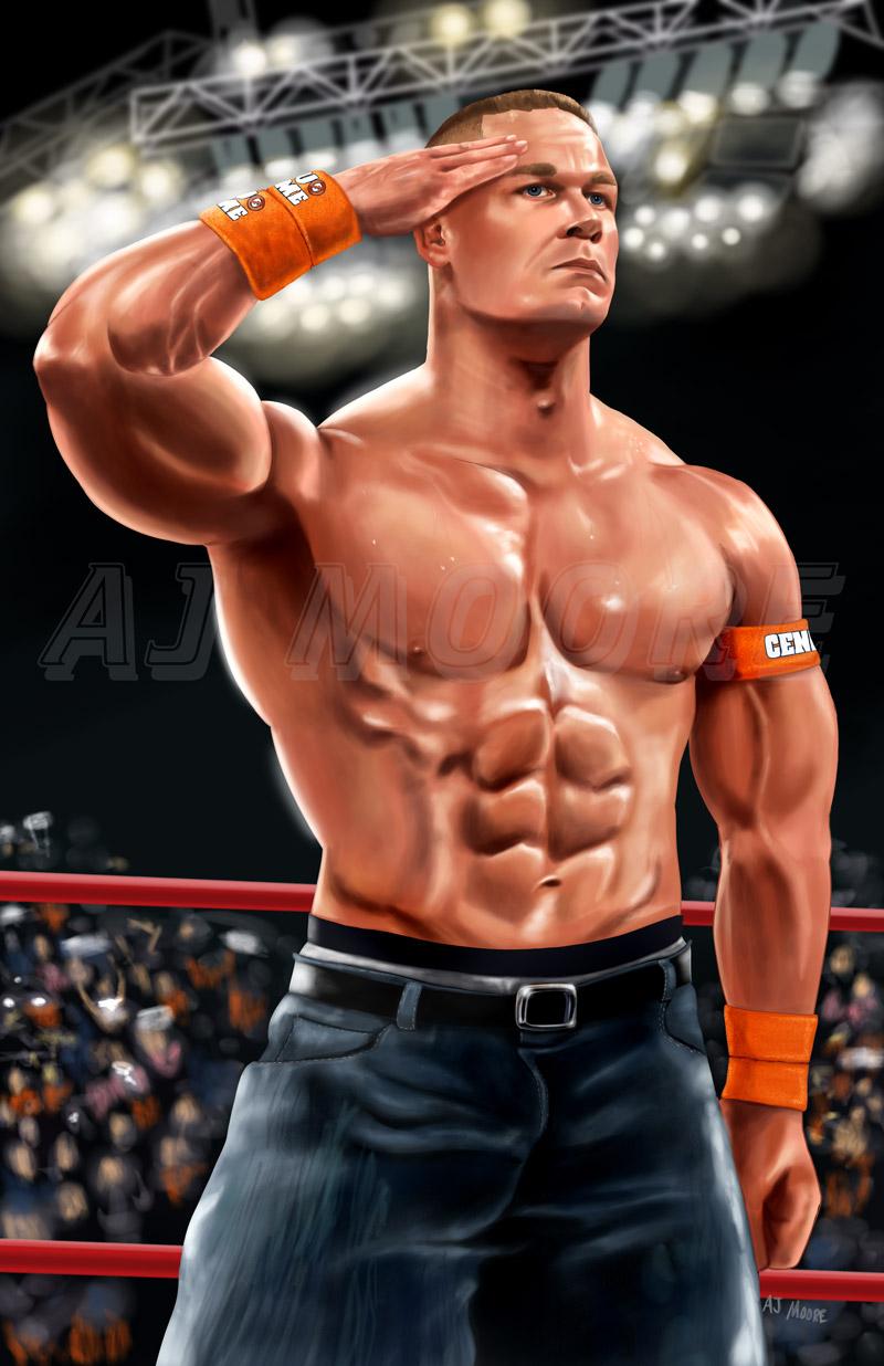 WWE John Cena by GudFit on DeviantArt