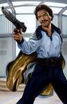 Lando Calrissian - by AJ Moore