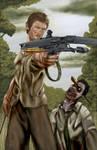 Daryl Dixon-by AJ Moore