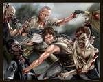 Dixon Justice: Daryl and Merle Dixon -by AJ Moore