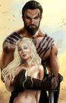 Khal Drogo - Daenerys Targaryen-Khaleesi -AJ Moore