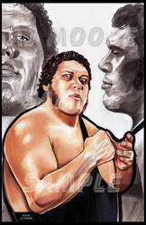 Andre the Giant - Artist AJ Moore