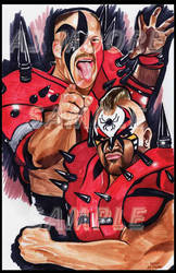 Legion of Doom - Artist AJ Moore