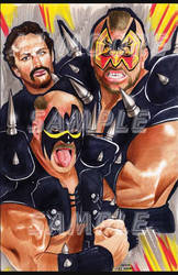 The Road Warriors - Artist AJ Moore