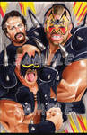 The Road Warriors - Artist AJ Moore by GudFit