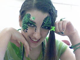 St Patrick's Day Face Paint by lygicaphisalogue