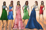 Sedona Fashion Illustrations