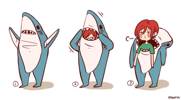 shark rin by kirza