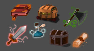 Vector-based Game Objects - Fantasy