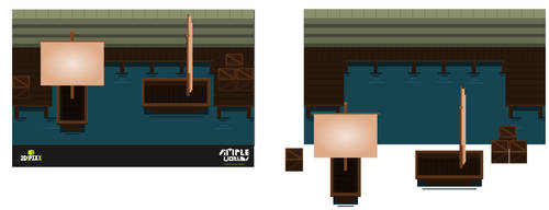 Simple Worlds - Open Content Series - Fishing Boat